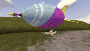 (DL)(SFM) Airship