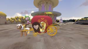 (DL)(SFM)(GMOD) Grand Galloping Gala Apple Wagon