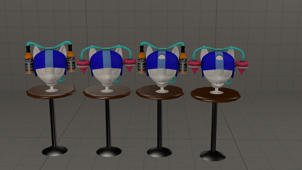 (DL)(SFM)(GMOD) Drink Hat by Dracagon