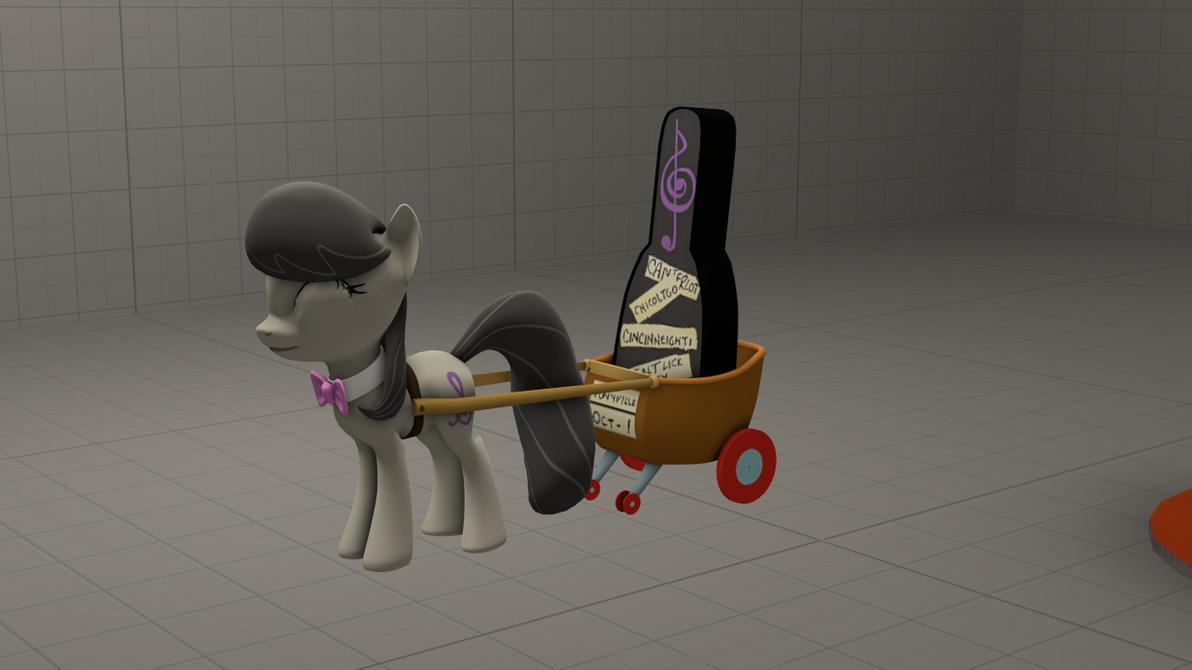 (DL)(SFM)(GMOD) Octavia's Cart by Dracagon