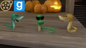 (DL)(SFM)(GMOD) MLP Snake