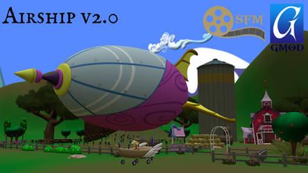 (DL)(SFM)(GMOD) Airship V2.0