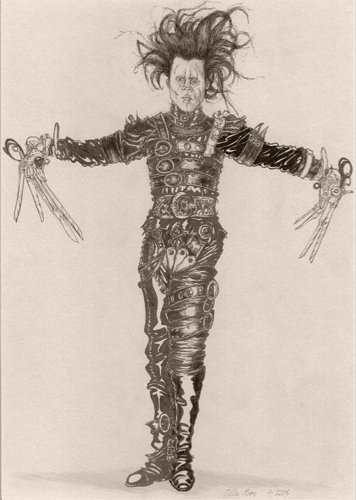 Edward Scissorhands by moptop4000