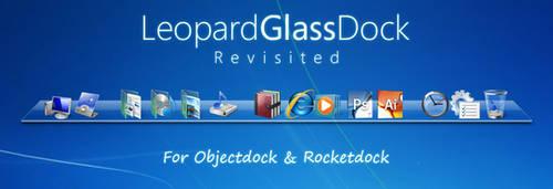 Leopard Glass Dock Skin 2 by potasiyam