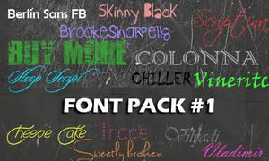Font Pack#1