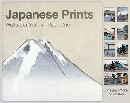 Japanese Prints Pack One
