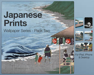 Japanese Prints Pack Two by city17