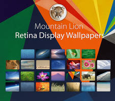 Mountain Lion Retina Display Wallpapers by city17
