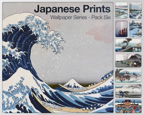 Japanese Prints Pack Six