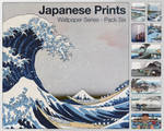 Japanese Prints Pack Six