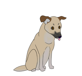 Gracie Wagging Animation