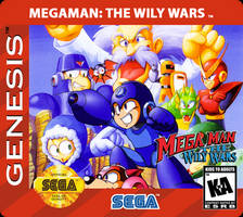 Megaman The Wily Wars Custom Label Normal