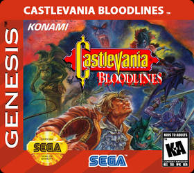 Castlevania Bloodlines Red Label Normal v2