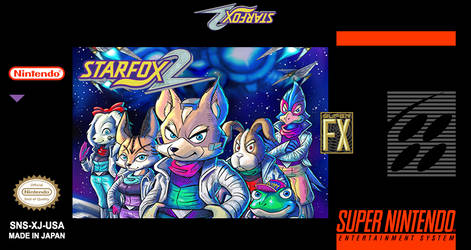Star Fox 2 New Label USA 2017