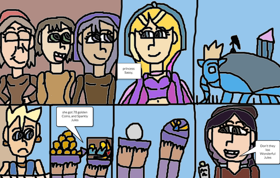 Sarah Whitney the Magic lamp part 9 pages 18