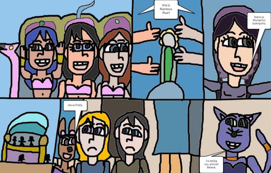 Sarah Whitney the Magic lamp part 9 pages 19