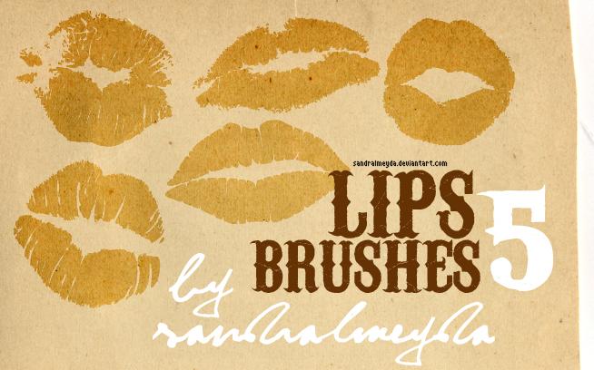 BRUSHES LIPS by sandralmeyda