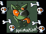 Sparky Animation Adorable Time