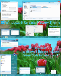 Windows 8 Release Preview Theme for Windows 7