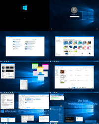 Windows 10 Theme for Windows 7 by mare-m