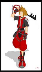 Deadpool's Influence on Sora by medusa747