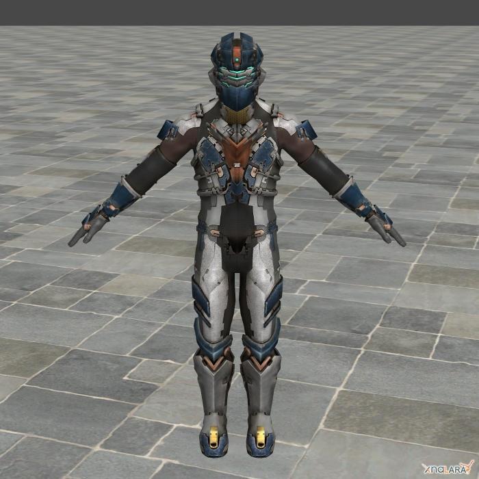 Dead Space 2 Advanced Suit by toughraid3r37890