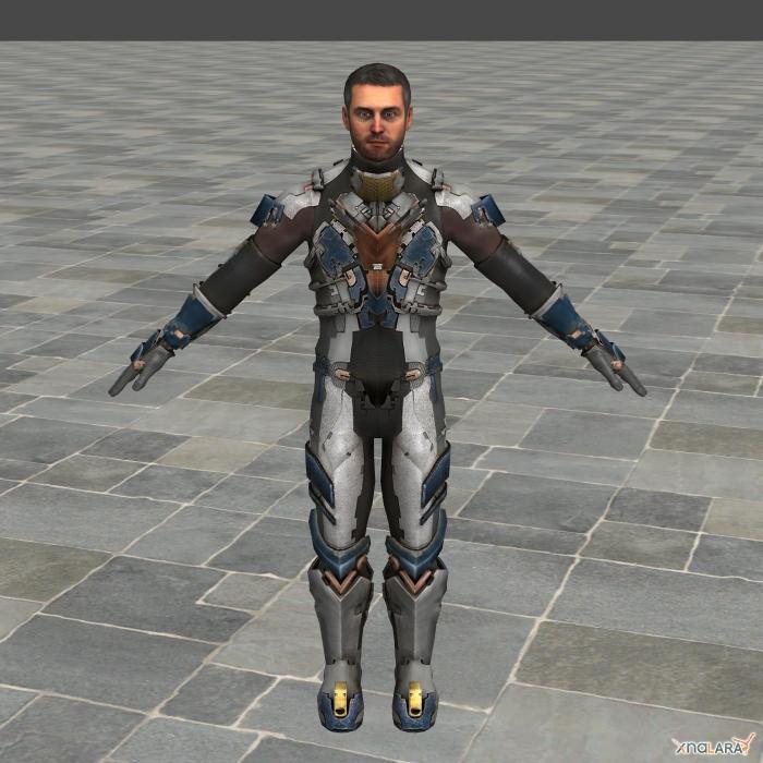 DS2 Advanced Suit No Helmet by toughraid3r37890