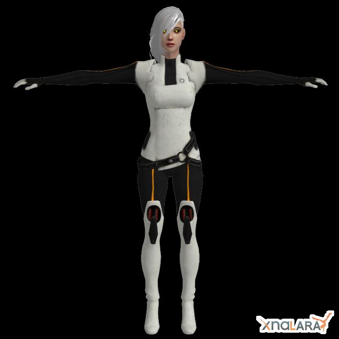 Human GLaDOS Custom Model