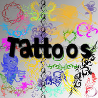 Tattoo Brushes by Cei-Ellem