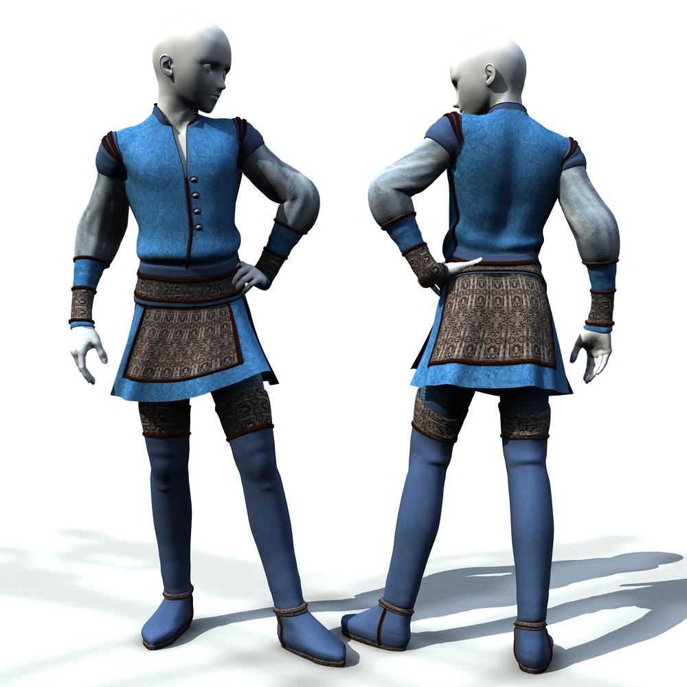 Guy's Outfit for TOA by Cei-Ellem