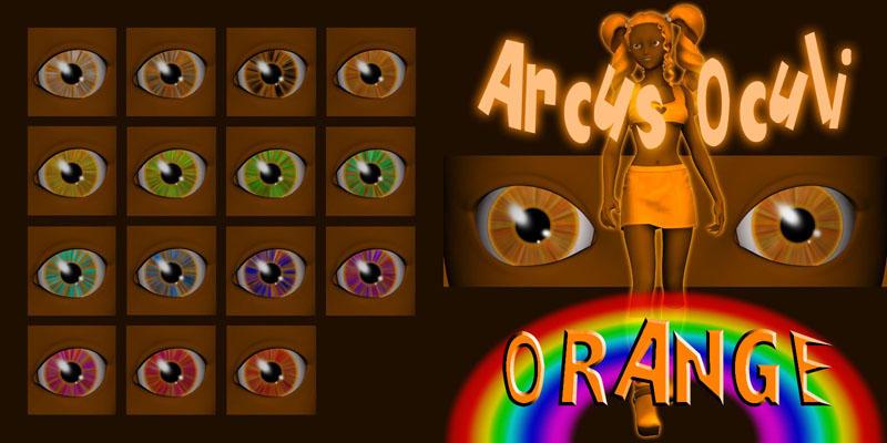 Arcus Oculi - Orange by Cei-Ellem