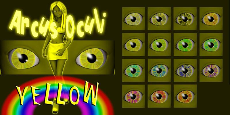Arcus Oculi - Yellow by Cei-Ellem