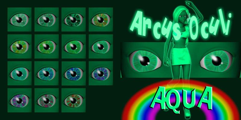 Arcus Oculi - Aqua by Cei-Ellem