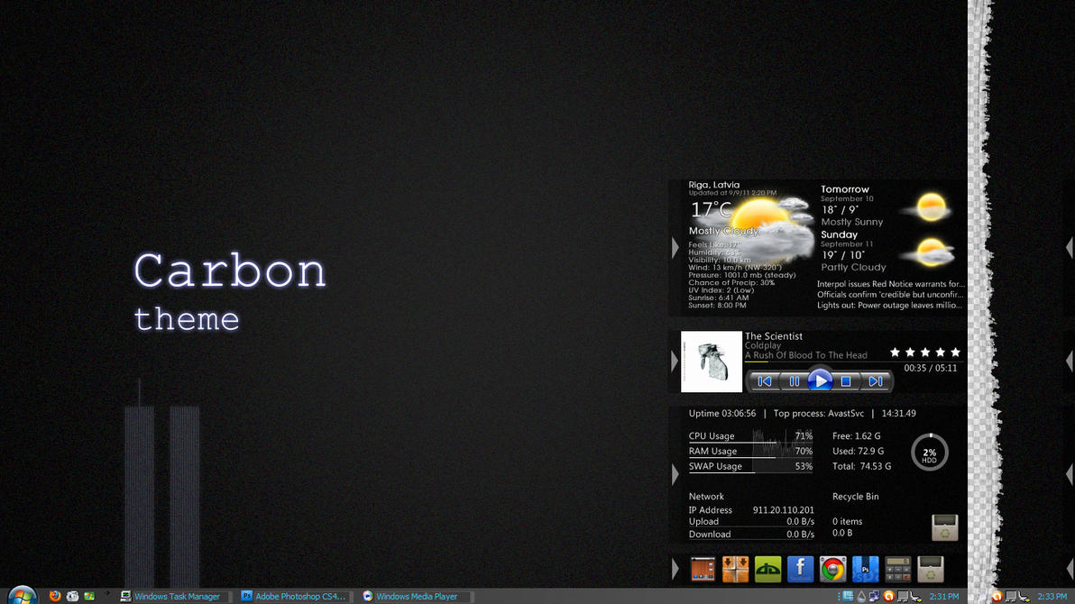 Carbon theme final 1.0 by UltimateRT