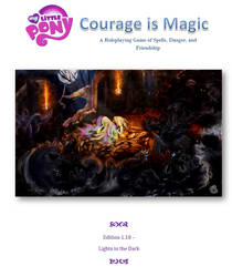 Courage is Magic 1.18 (A Pony Tabletop Game) by LittleLunaMoonMatron