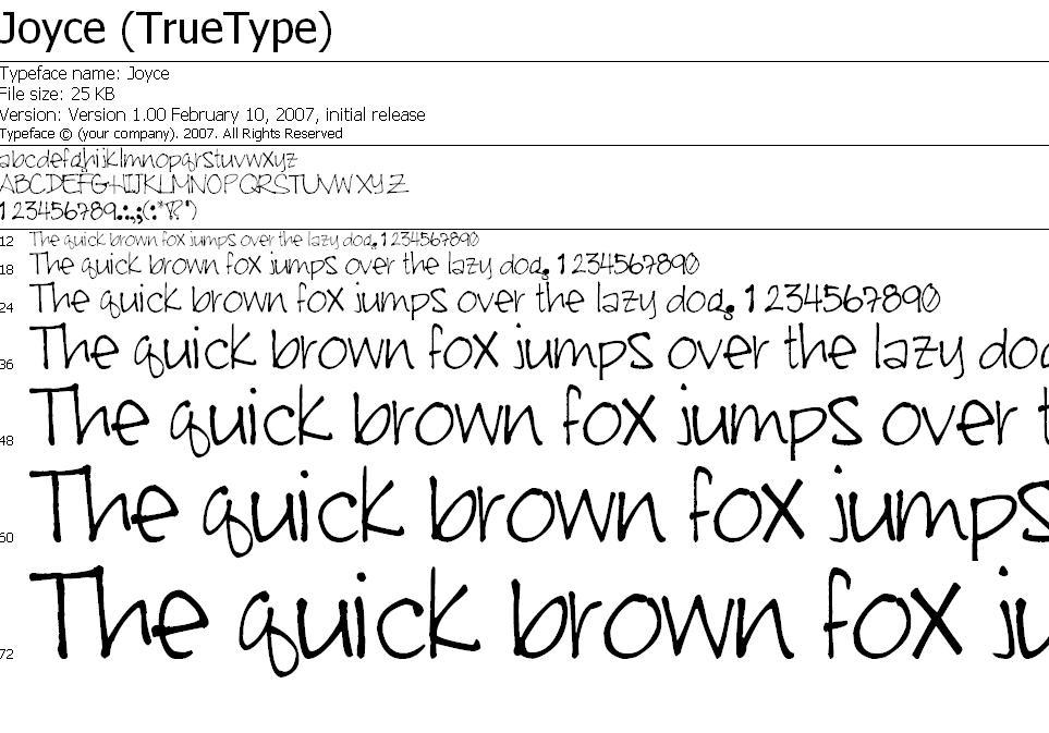 My Handwriting Font By Joicetotheworld