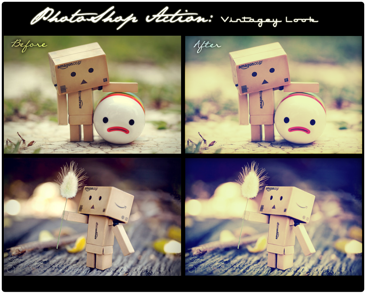 Photoshop Actions - Vintage by kailay