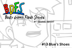 BDFS13 - Blue's shoes by caat