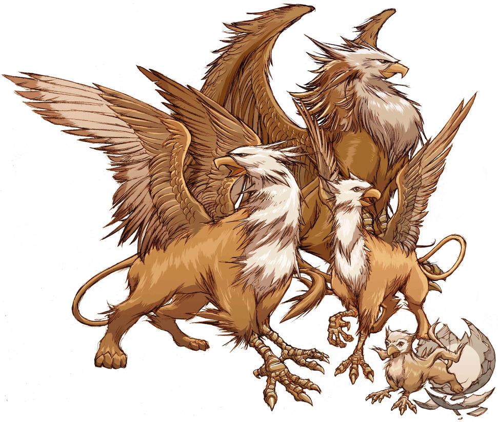 Mihawk x reader griffin mythical creature by - Mihawk x reader ...