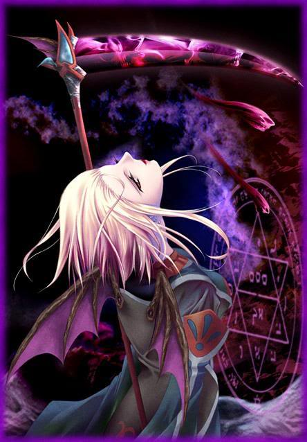Mihawk x reader grim reaper mythical creature by - Mihawk x reader ...