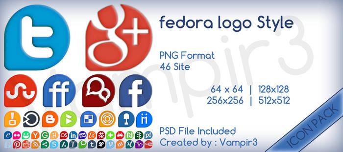 fedora logo Style