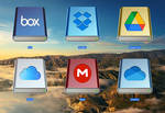 Cloud Drive Icons v1