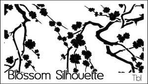 TBL Blossom Silhouette Brushes