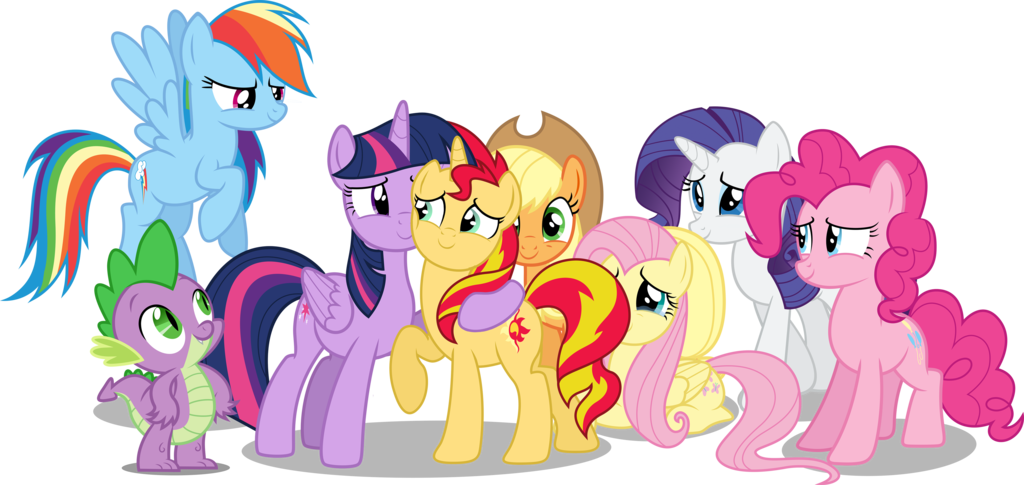 My Little Pony As The Sunsets On Past Pt 1 By JasperPie DeviantArt