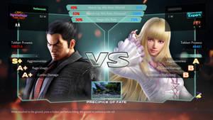 Tekken 4 VS Screen X
