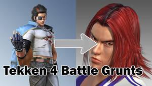Tekken 4 Hwoarang Battle Grunts