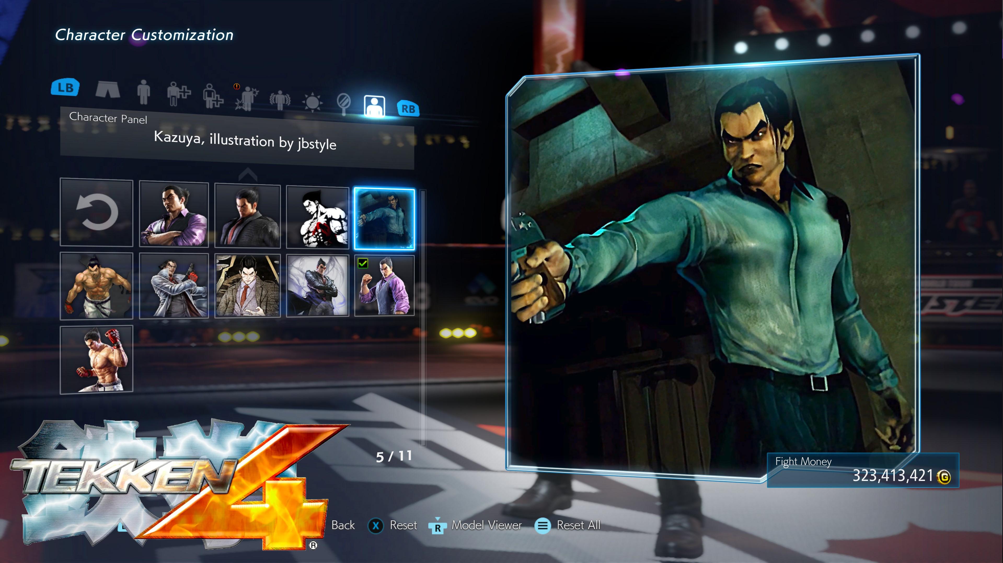 Tekken 4 Kazuya Panel By Thei3arracuda On Deviantart
