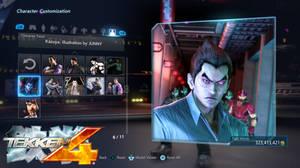 Tekken 4 Kazyua Panel #2