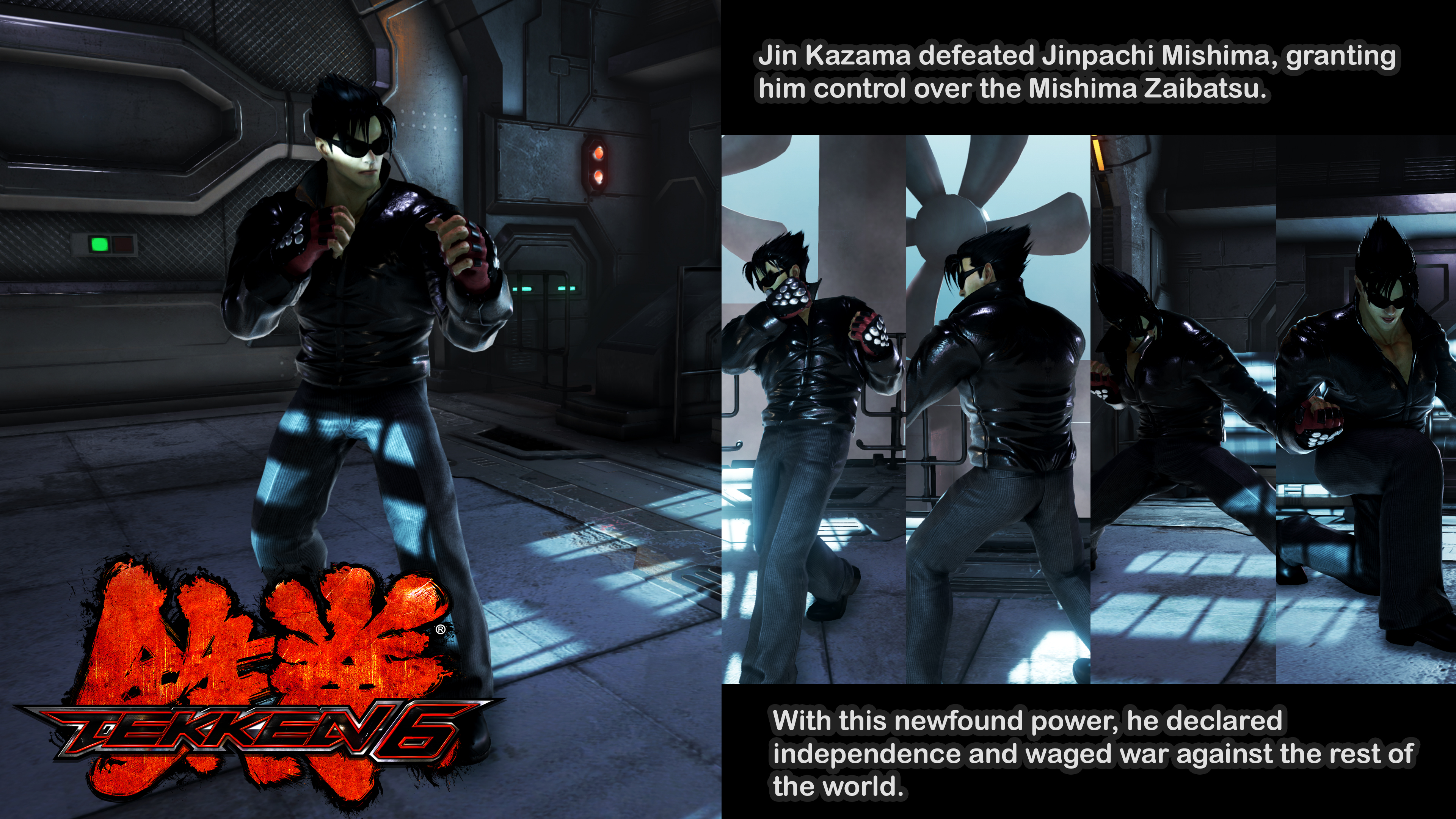 jin tekken 6 characters