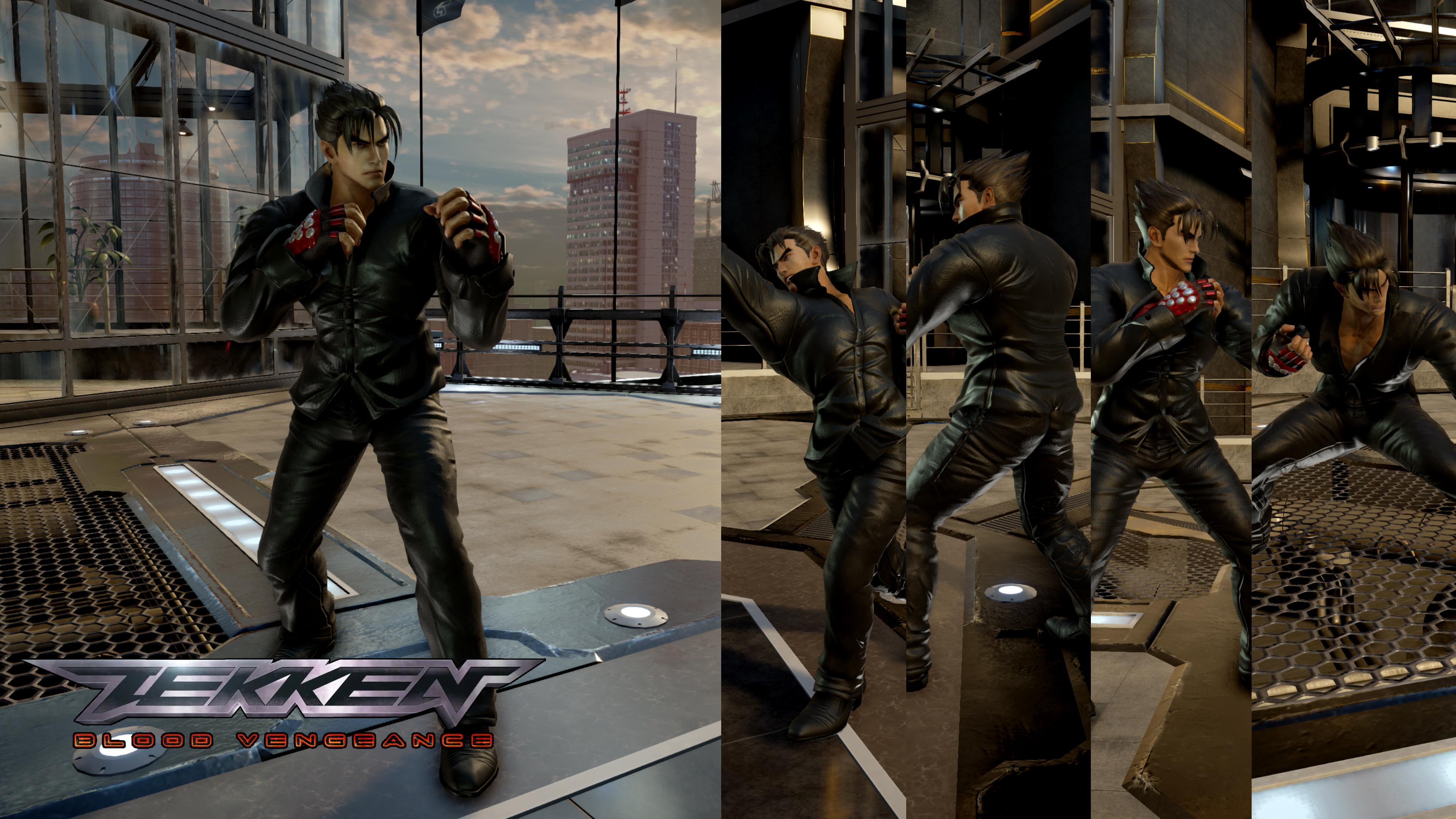 Tekken Blood Vengeance Jin Kazama By Thei3arracuda On Deviantart